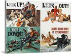 Premium Thick-Wrap Canvas Wall Art entitled Thunderball - Vintage Movie Poster $117.99 USD on eBay