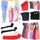 6pcs Girls Toddlers Children Warm Winter Solid Printed Assorted Tights Lot XS XL