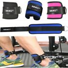 US Gym Sports Weight Lifting Ankle Brace Straps Attachment Strap Fitness Workout image