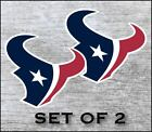 Houston Texans Sticker Decal Vinyl SET OF 2 Cornhole Truck Car $18.5 USD on eBay