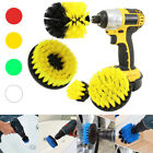 4Pcs Cleaning Drill Brush Tile Grout Power Scrubber Bathtub Floor Cleaner Combo