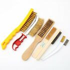 Wire Brush knife Brass & Steel - Light & Heavy Duty Cleaning Rust Remover brush