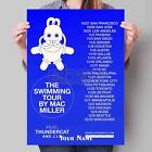New Custom Personalized Art Print Poster Wall Decor Mac Miller The Swimming Tour