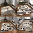 New Modern Rug High Quality Thick Pile Beige Woodland Think Area Rugs Floor Rugs