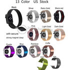 Milanese Magnetic Loop Stainless Strap Band For Apple Watch Series 2 3 4 38-44MM image