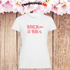 Back To The 80's Lady T Shirt Baby Girl Pink Font Fashion Gift Retro Tee Top