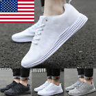Mens Gym Trainers Fitness Sport Athletic Running Casual Shoes Sneakers Size 7 12