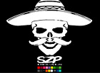 * SKULL WITH AK47 DIESEL * WE THE PEOPLE *651 VINYL DECAL / PIRATE FLAG USA GUNS
