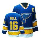 Brett Hull St Louis Blues Vintage Blue Jersey M L XL 2XL 3XL
