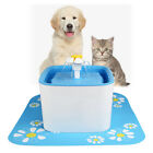 2.5L Pets Dog Cat Kitten Water Drinking Machine Pet Fountain Bowl Drink Dish