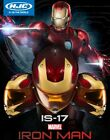 HJC IS-17 Marvel Iron Man Motorcycle Helmet w/Internal Shield! Closeout! Ironman