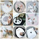 Soft Cotton Baby Kids Play Mat Floor Rug Game Gym Activity Crawling Blanket