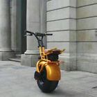 Waterproof Fat Tire Brushless Motor Chopper Electric Scooter Unicycle 1000w