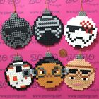 Star Wars The Force Awakens Pixel Baubles