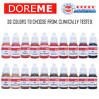 DOREME Organic Permanent Makeup Pigment Ink Tattoo Microblading Micropigmention