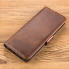 Samsung Galaxy S8 S10 S20 Note9 Leather Flip Wallet Case Phone Cover Stand Pouch