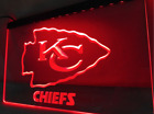 Kansas City Chiefs LED Sign Mens Media Bar Neon NFL Football Super Bowl Champion on eBay