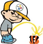 Pittsburgh Steelers Piss On Cincinnati Bengals NFL Color Vinyl Decal SIZES on eBay