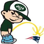 New York Jets Piss On New England Patriots NFL Color Vinyl Decal Choose SIZES on eBay