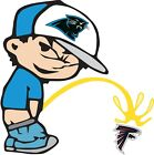 Carolina Panthers Piss On Atlanta Falcons NFL Color Vinyl Decal Choose SIZES on eBay