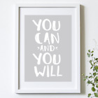 NEW You can and you will print Women's by Hark Home