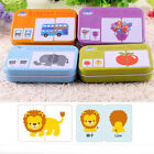 Creative Cognitive Card Puzzle Toys Matching Puzzle Early Education Toy Baby Kid