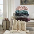 Madison Park Chunky Knit Throw image