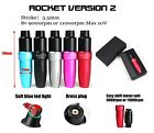 G2 Rocket Tattoo Pen 9000rpm Led Light With Brass Plug Cartridge Tattoo Needle
