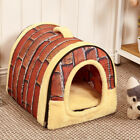 Bed Pet Kennel Easy to Take 2in1 Use  Puppy Dog Cat Room Funny High Quality
