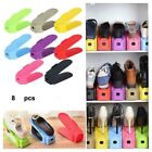 24pcs Shoe Slots Space Saver Easy Shoes Organizer Plastic Rack Storage Holder <br/> USA SELLER/FAST FREE SHIPPING/HIGH QUILITY