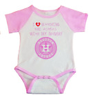 Houston Astros I Love Watching The Astros With Mommy Baby Bodysuit Pink on Ebay