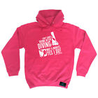 Scuba Diving Hoodie Hoody Funny Novelty hooded Top - I Dont Always Drink After D