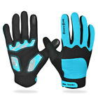 Sport Winter Long finger Cycling gloves mtb road Bike gloves touch screen adult