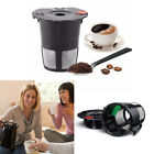 Black Reusable Refillable K-Cup Coffee Filter Pod 2.0 My K-cups Filter Tools