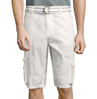 i jeans by Buffalo Cargo Shorts Size 29, 32, 38 New White Msrp $50.00