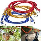 BUNGEE CORD STRAP 180cm HEAVY DUTY WITH HOOKS ELASTICATED ROPE STRETCH TIE UK