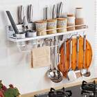 Внешний вид - Kitchen Wall Rack Wall Shelf Multi-Functional Hanging 8 Hooks Anti-rust Durable