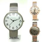 Mens Ladies Stylish Casual Stretch Elastic Band Fashion Watch AS3 image