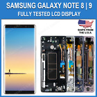 Samsung Note 8 N950 OEM LCD Touch Screen Digitizer Display Frame Replacement SBI