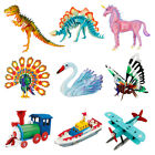 3D Jigsaw Puzzle Wooden DIY Model Painting Miniature Kits Assembly Craft Toy