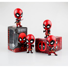 Deadpool Car Bobble-Head Shake Head Doll PVC Action Figure Collectible Model Toy