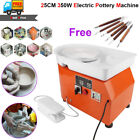 350W Electric Pottery Wheel Machine Stirring Ceramic Work Clay Craft Art School image
