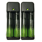 USA 5800mAh Rechargeable 18650 Battery 3.7V Li-ion Batteries Intelligent Charger