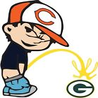 "Chicago Bears Piss On Green Bay Packers Vinyl Decal CHOOSE SIZES 3.5""-28"" $5.09 USD on eBay"