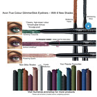 Avon GlimmerStick Twist Up Eyeliners ~ 6 BRAND NEW SHADES ~Free P