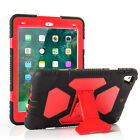 """Case for iPad 5 6th Gen 9.7"""" 2017/2018 Case Shockproof Hard Stand Rubber Cover"""
