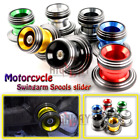 Rear Swingarm Swing Screws Spools Sliders For BMW F800R S1000R HP4 S1000RR