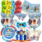 Puppy Dog Pals Party Balloon Table Cover Supplies Plate Cupcake Topper Cup