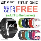 'For Fitbit Ionic Strap Replacement Band Classic Metal Buckle Wristband Accessory