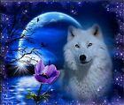 5D DIY Diamond Painting Wolf, Full Cover, Square Tile #16